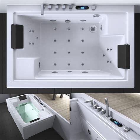 Luxus Whirlpool Jacuzzi Spa Badewanne Mit Radio & Licht