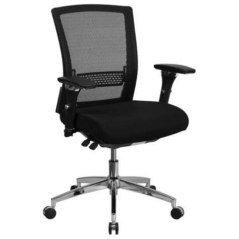 Office Chairs That Support 300 Lbs by Corona Modern Black Mesh Low Back Office Chair Eurway