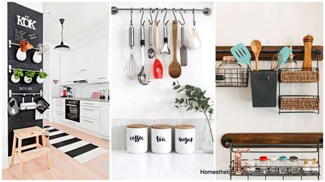 kitchen wall organization ideas emphasize small spaces with kitchen wall storage ideas