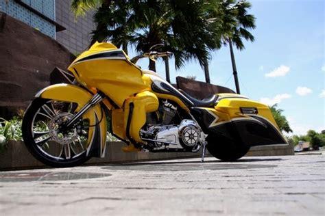 Gambar Motor Harley Davidson Road Glide by Modifikasi Motor Harley Davidson Road Glide Keren