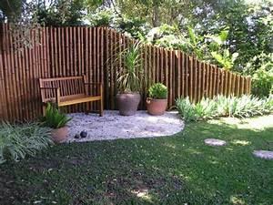 Raumteiler Für Garten : bambus deko ein exotisches flair f r den garten ~ Michelbontemps.com Haus und Dekorationen