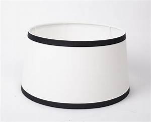 Lampenschirm Schwarz Weiß Gestreift : lampenschirm wei schwarz form rund 45 cm ~ Indierocktalk.com Haus und Dekorationen