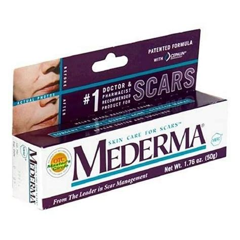 Mederma Skin Care for Scars, 1.76 oz (50 g) - DirectDermaCare