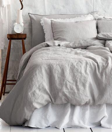 linen duvet cover set light gray traditional duvet covers and duvet sets by h m