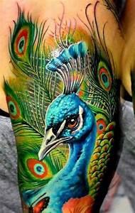 Peacock Tattoos - Page 2