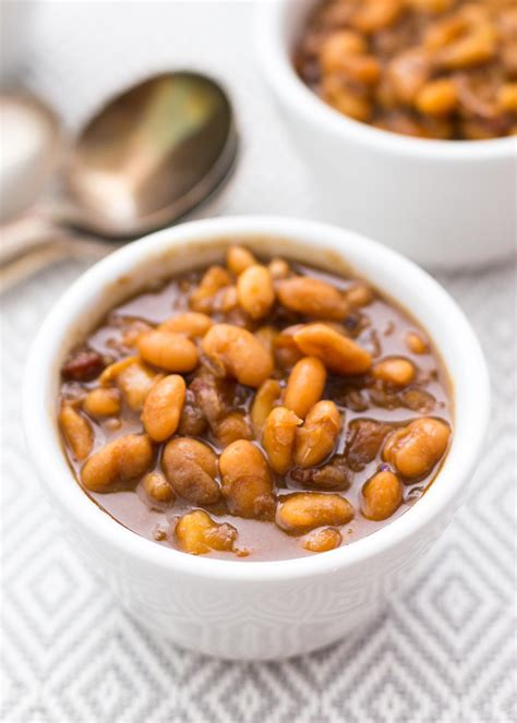cooker baked beans pressure cooker baked beans recipe simplyrecipes com