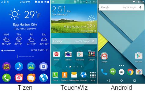 better for android tizen versus android in pictures ars technica