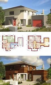 Stadtvilla Mit Garage : moderne stadtvilla haus evolution 143 v12 bien zenker ~ A.2002-acura-tl-radio.info Haus und Dekorationen