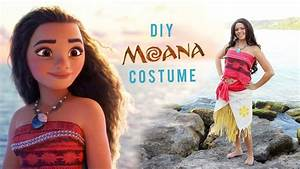 DIY DISNEY'S MOANA COSTUME — The Sorry Girls