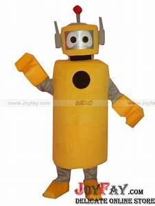 Yo Gabba Gabba Robot Plex Mascot Costume Fursuit http ...