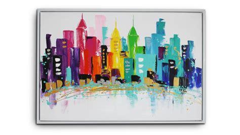 canape design italien tableau saginaw peinture à l 39 huile 120x80 cm mobilier moss