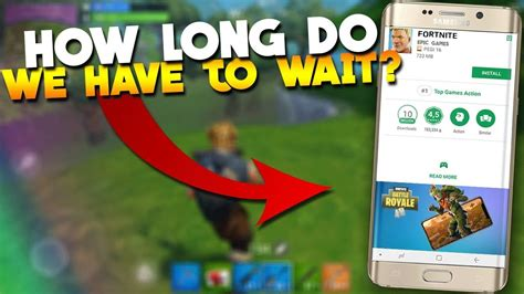 fortnite mobile android release date record gameplay
