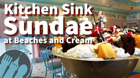 vs food kitchen sink the kitchen sink sundae at beaches and 9117