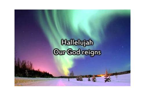 descargar mp3 hallelujah our god reigns hillsong lyrics