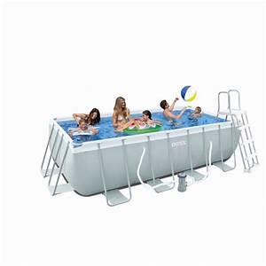 Piscine Tubulaire Intex : kit piscine intex tubulaire piscine piscine sauna ~ Nature-et-papiers.com Idées de Décoration