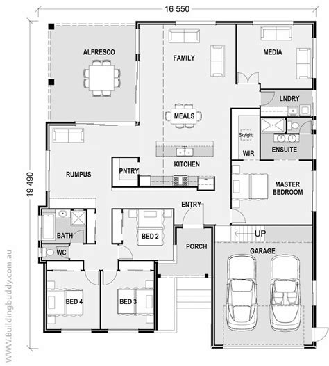 sloping lot house plans jackwood sloping lot house house plans by http www buildingbuddy com au home designs main
