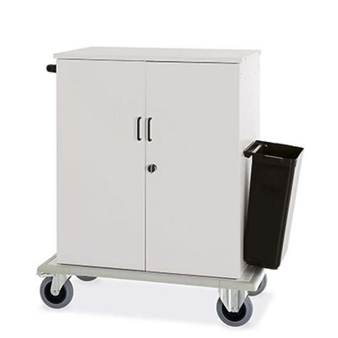 chariot femme de chambre chariot femme de chambre slh 2129 equipements hoteliers