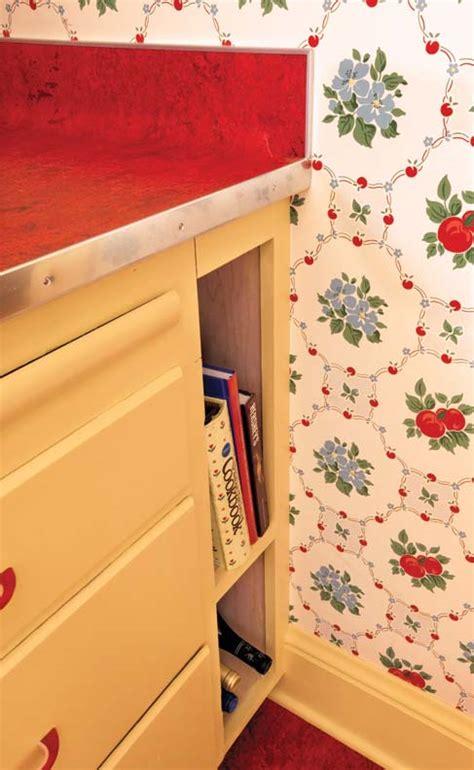 retro kitchen storage designing a retro 1940s kitchen house 1945