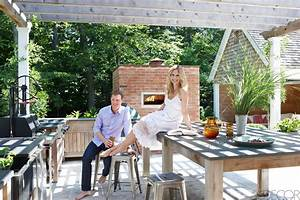 Bobby Flay & Stephanie March Hamptons House