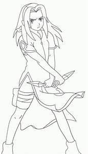 Sakura Haruno Coloring Pages Az Coloring Pages