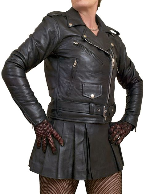 ladies motorcycle clothing womens marlon brando biker leather jacket tout ensemble
