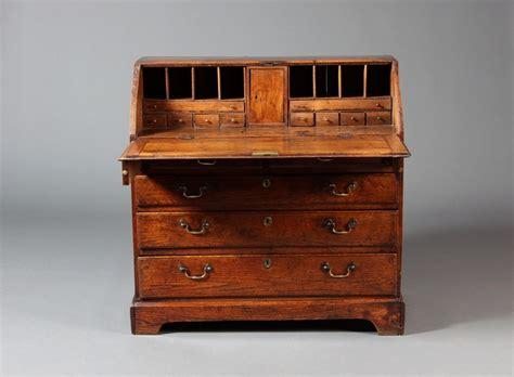 bureau sold tim bowen antiques carmarthenshire wales oak bureau sold