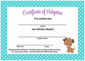 Free adoption papers printable printable paper for Free printable adoption certificate