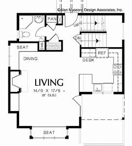 Exceptional one bedroom house plans 7 print this floor for Simple house plan with 1 bedrooms