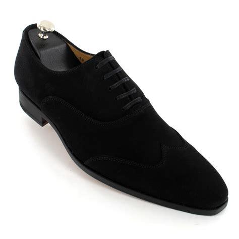 chaussure de cuisine noir chaussures daim noir pour homme