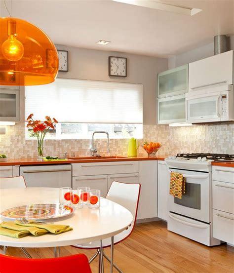 Orange Kitchen Walls — Orange Kitchen Accents — Eatwell101