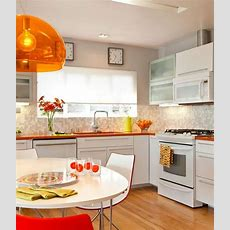 Orange Kitchen Walls — Orange Kitchen Accents — Eatwell101