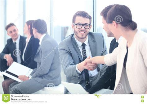 13921 business meeting handshake business meeting discussion corporate handshake