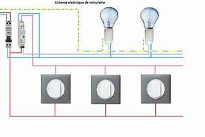 Eclairage Sans Branchement Electrique : electricit schema electrique minuterie branchement 4 fils ~ Melissatoandfro.com Idées de Décoration