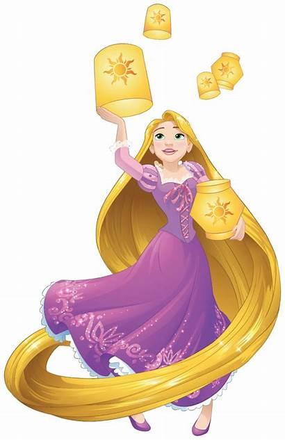 Rapunzel Disney Transparent Background Clipart Lanterns Princess