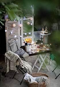 Lichterkette Balkon Sommer : nice terrace terrasse sommer sichtschutz lichterkette ~ A.2002-acura-tl-radio.info Haus und Dekorationen
