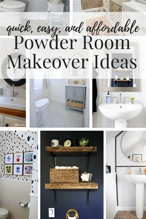 Spa Bathrooms On A Budget by Easy Affordable Diy Powder Room Makeovers Great Ideas