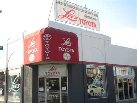 Lees Toyota by S Toyota Jamaica Ny 11435 Car Dealership And Auto