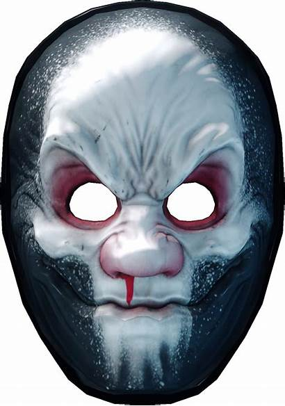 Jimmy Payday Mask Masks Henry Hardcore Character