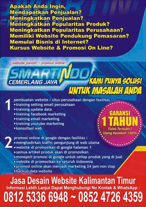 jasa desain website balikpapan kalimantan timur indonesia