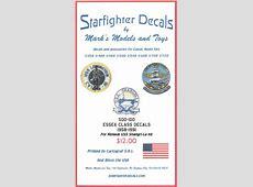 Starfighter Decals 500100 1500 Essex Class Decals Decal