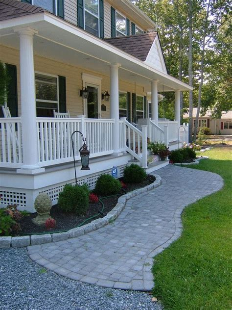 front porch and walkway ideas traditional exterior front porch design pictures remodel decor and ideas page 55 deck