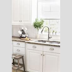 Diy Pressed Tin Kitchen Backsplash  Bless'er House