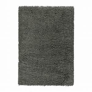 gaser tapis poils hauts 133x195 cm ikea With tapis gris ikea