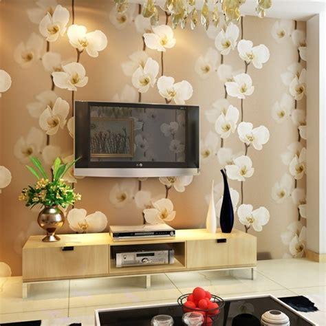 Tapeten Wohnzimmer Blumen by 3d Tapete F 252 R Eine Tolle Wohnung Archzine Net