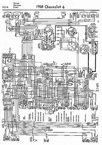 Wiring Diagram For 1958 Chevrolet 6 Delray Biscayne And