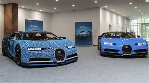 A former racing driver took it for a test. This Insane Life-Size Lego Technic Bugatti Chiron Is Drivable