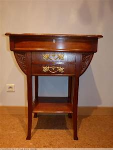 Art Nouveau Mobilier : camille gauthier travailleuse art nouveau cole de nancy ~ Melissatoandfro.com Idées de Décoration