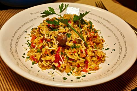 Delicious Mediterranean Inspired Saffron Rice Recipe