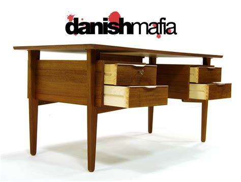 mid century office desk mid century danish modern teak office desk danish mafia