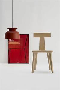 Sedia T Coffee In Legno Faggio Rovere Colore Naturale Per Interno Arredo Design